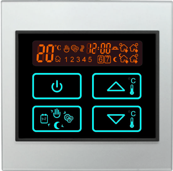 Boiler Thermostats Touch Control Panels
